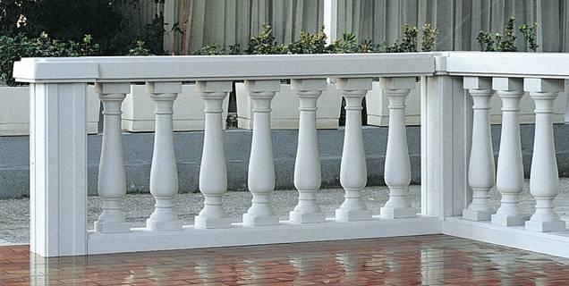 Balaustre in Marmoresina