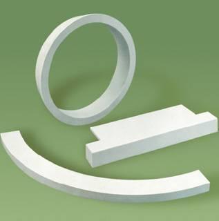 Coprimuri curvi in Marmoresina realizzabili su misura