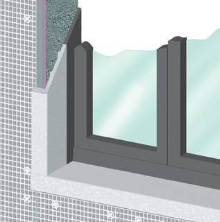 Riquadrature finestre in Marmoresina