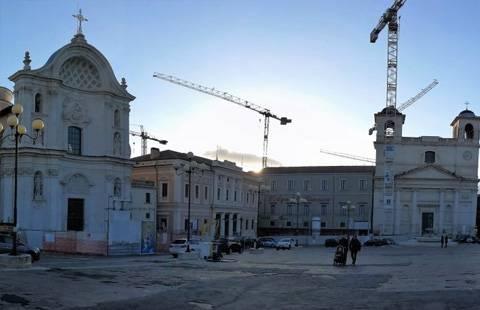 Marmoresina per la ricostruzione de L'Aquila