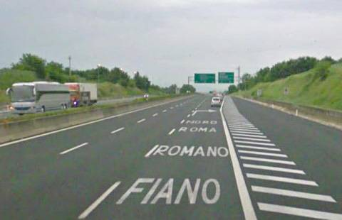 Canalette per drenaggio tratto Anas Roma-Fiano Romano