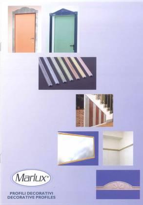 Catalogo profili decorativi in Marmoresina